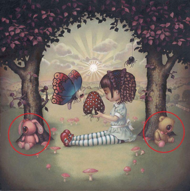 Какой предмет на картинке вы увидели первым? Ответ раскроет ваш самый глубокий бессознательный страх