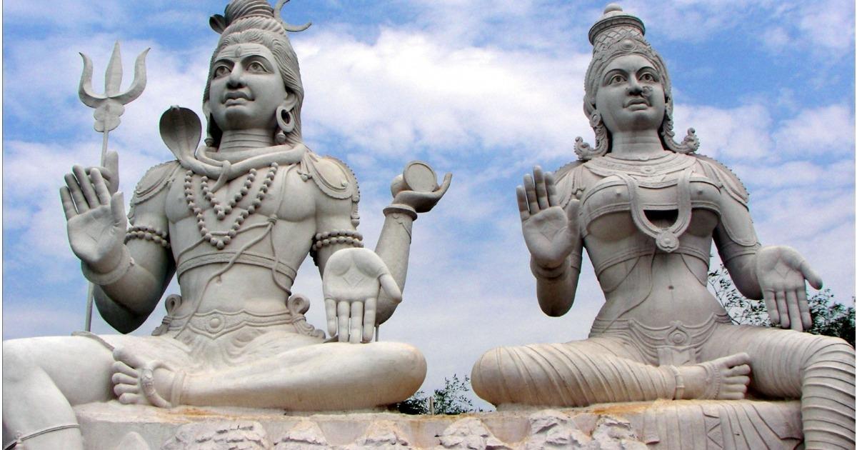 Шива — Повелитель Вселенной, Парвати и мудрец