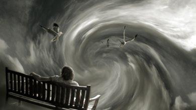 Тревожная воронка мыслей при эмоциональных расстройствах