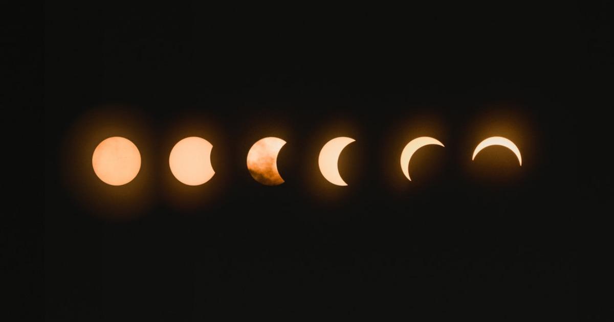 Новолуние и солнечное затмение 6 января 2019 года