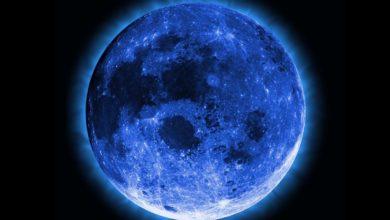 Майское полнолуние «Голубой Луны»