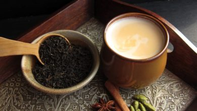Бодрящий пряный чай Масала